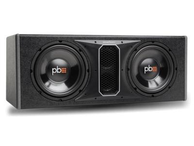PowerBass 10 Inch Dual Subwoofer Enclosure - PSWB102