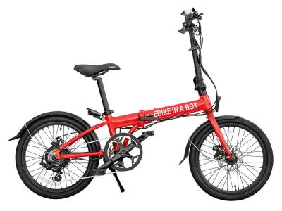 Daymak Ebike With Bluetooth MP3 Torch In Red - Ebikeinabox (R)