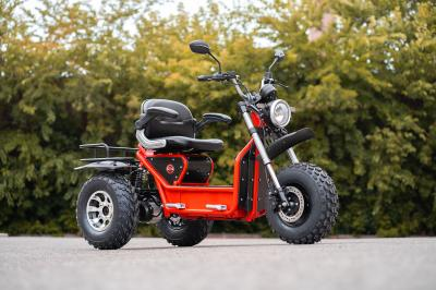 Daymak Mobility Scooter With Dual Motors In Red - Boomerbeast 2 D (R)