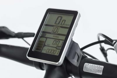 Daymak EBike With Back Lit LED Display In Black - VERMONT LR (B)