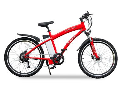 Daymak EBike With Back Lit LED Display In Red - VERMONT LR (R)