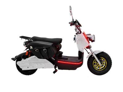 Daymak 500W 84V Electric Scooters in White - Eagle Deluxe (W)