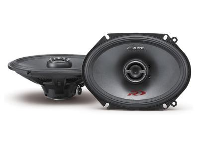 "6 X 8"" Alpine  Car Speakers and Subwoofers SPR-68"
