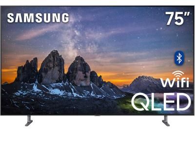 "75"" Samsung QN75Q80RAFXZC Q80R Series Built-in Wi-Fi Bluetooth Smart QLED 4K TV"