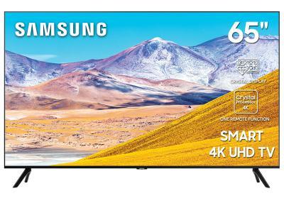 "65"" Samsung  UN65TU8000FXZC Smart 4K UHD TV"