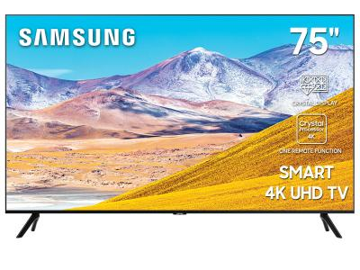 "75"" Samsung  UN75TU8000FXZC Smart 4K UHD TV"