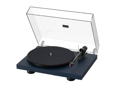 Project Audio Debut Carbon EVO Turntable  in Satin Steel Blue - PJ97826008