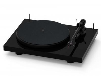 Project Audio DEBUT III Turtable With OM 5E Moving Magnet Cartridge In High Gloss Black - PJ65180668