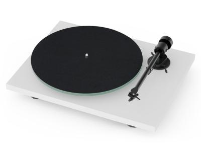Project Audio T1 Entry-level Audiophile Turntable With OM5e Cartridge In Matte White - PJ97821966
