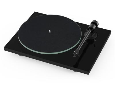 Project Audio T1 BTX Entry-level Audiophile Turntable In High Gloss Black - PJ97821140
