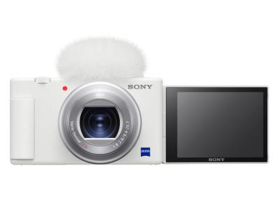 Sony ZV-1 Vlog Digital Camera In White - DCZV1/W