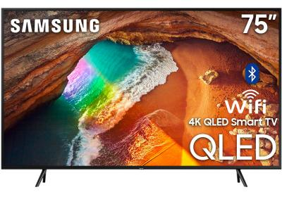 "75"" Samsung QN75Q60RAFXZC Q60R Series Built-in Wi-Fi Bluetooth Smart QLED 4K TV"