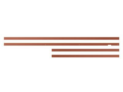 """65"""" Samsung The Frame Customizable Bezel In Beveled Brick Red - VG-SCFA65TRC/ZA"""