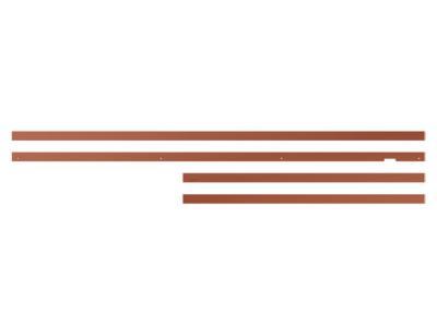 """55"""" Samsung The Frame Customizable Bezel In Beveled Brick Red - VG-SCFA55TRC/ZA"""