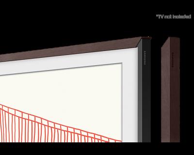 "43"" Samsung Customizable Frame For The Frame TV In Modern Brown - VG-SCFA43BWBZA"