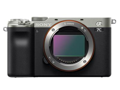 Sony Alpha 7c Compact Full-frame Camera Body In Silver - ILCE7C/S