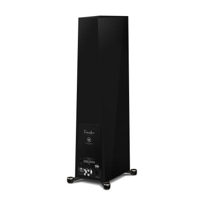 Paradigm 5-driver 3 Way Hybrid Floorstanding Speaker In Piano Black - Founder 120H (PB)