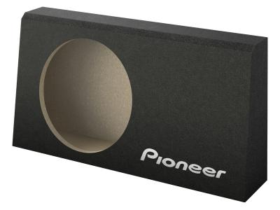 Pioneer 10 Inch Wedge Shallow Subwoofer Enclosure For Behind-Seat Use - UD-SW250T