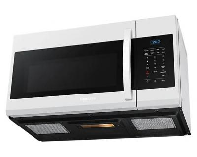 """30"""" Samsung 1.7 Cu. Ft. Over-the-Range Microwave In White - ME17R7021EW"""