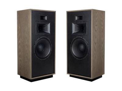 Klipsch Floorstanding Speaker in Distressed Oak - FORTEIVDIS