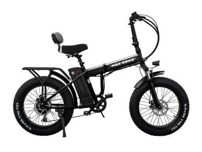 Daymak 48V 350W Fat Tire Ebike in Black - Max 48V (B)