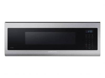 """30"""" Samsung 1.1 Cu. Ft. Capacity Low Profile Over the Range Microwave - ME11A7510DS"""