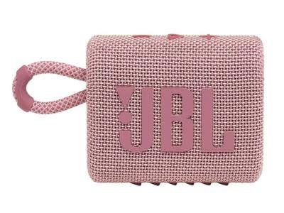 JBL Go 3 Portable Bluetooth Speaker in Pink - JBLGO3PINKAM