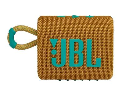 JBL Go 3 Waterproof Portable Bluetooth Speaker in Yellow - JBLGO3YELAM
