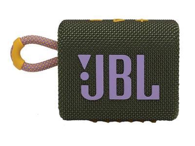 JBL Go 3 Portable Waterproof Speaker in Green - JBLGO3GRNAM