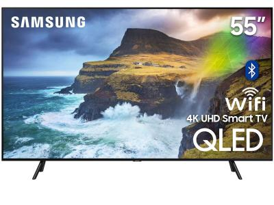 "55"" Samsung QN55Q70RAFXZC Q70R Series Built-in Wi-Fi Bluetooth Smart QLED 4K TV"