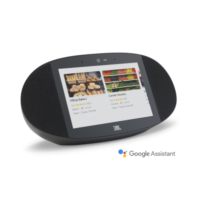 JBL  legendary sound in a Smart Display with the Google Assistant - LinkView
