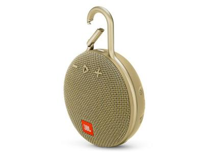 JBL A full-featured waterproof portable Bluetooth speaker with surprisingly powerful sound.-JBLCLIP3SAND