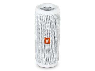 JBL full-featured waterproof portable Bluetooth speaker with surprisingly powerful sound Flip 4 (W) JBLFLIP4WHTAM
