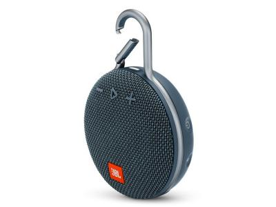 JBL A full-featured waterproof portable Bluetooth speaker with surprisingly powerful sound.-JBLCLIP3BLU