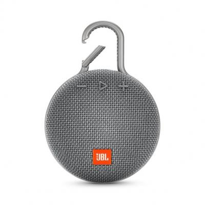 JBL A full-featured waterproof portable Bluetooth speaker with surprisingly powerful sound.-JBLCLIP3GRY