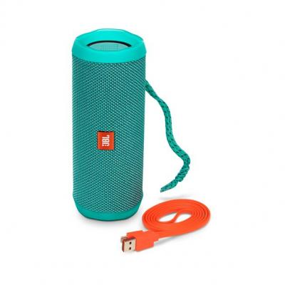 JBL full-featured waterproof portable Bluetooth speaker with surprisingly powerful sound Flip 4 (Bl) JBLFLIP4TELAM