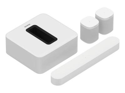 Sonos Surround Set With Beam and One SL(2) - 5.1 Surround Set (Beam, Sub, One SL (2)) (W)