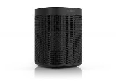 Sonos One – Voice Controlled Smart Speaker with Amazon Alexa Built In Black - Sonos One (B)