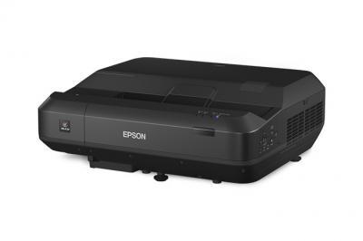 Epson Home Cinema LS100 Full HD 3LCD Ultra Short-throw Laser Projector - V11H879520