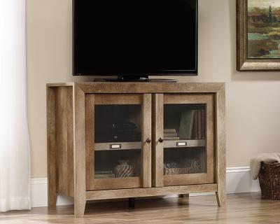 Sauder Dakota Pass Collection TV Stand Display Cabinet - 418268