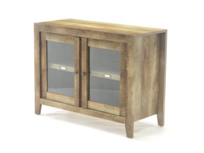 Sauder Dakota Pass Collection TV Stand Display Cabinet - 418268