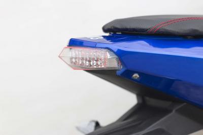 Daymak 72V Electric Scooter in Blue - EM3 (Bl)