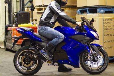 Daymak 72V Electric Scooter in Blue - EM2 (Bl)