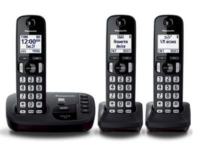 Panasonic Digital Cordless Answering System - KXTGD223B