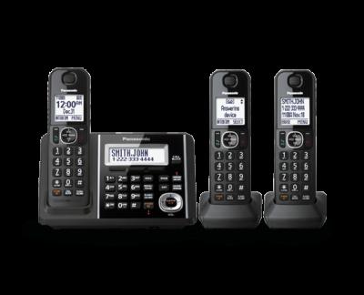Panasonic Digital Cordless Answering System - KXTGF343B