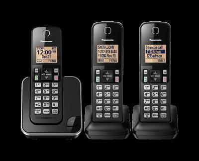 Panasonic Digital Cordless Phone System - KXTGC383B