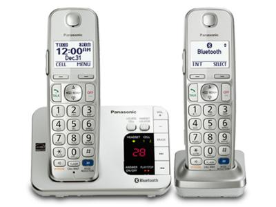 Panasonic Bluetooth Compatible System - KXTGE262S