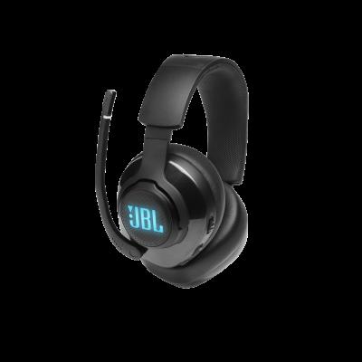 JBL Quantum 400 USB Over-Ear Gaming Headset with Game-Chat Dial - JBLQUANTUM400BLKAM