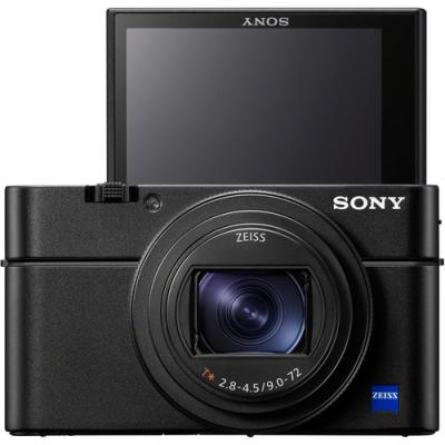 Sony Cyber Shot RX100 VII Compact Camera, Unrivalled AF - DSCRX100M7