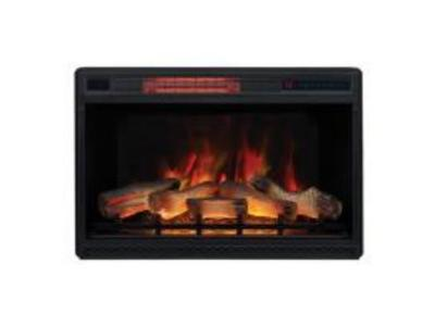 "Bell'O Inserts 28"" 3d Infrared Quartz Electric Fireplace For The Manning  MANNINGFIREBOX"